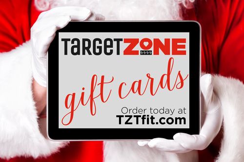 Purchase Target Zone Holiday Gift Certificates